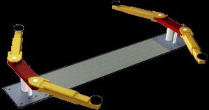 2-Stempel-Hebebühne P2